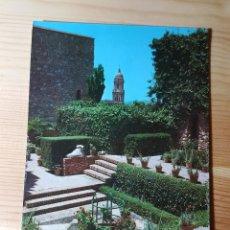 Postales: MALAGA JARDINES DE LA ALCAZABA DE GIBRALFARO - ED. CYP. Lote 148060410