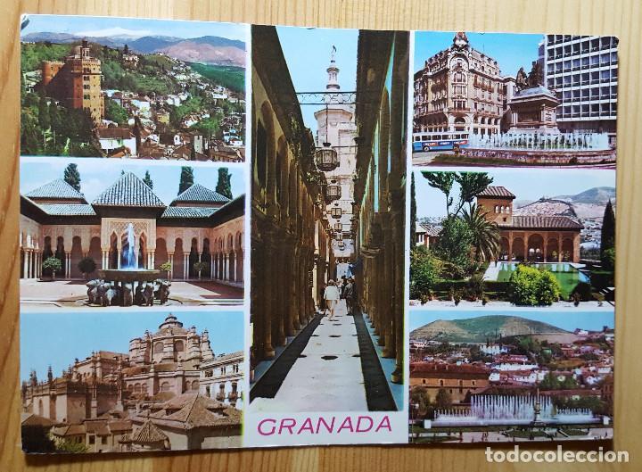 GRANADA Nº2135 VARIOS ASPECTOS - ED. ARRIBAS (Postales - España - Andalucia Moderna (desde 1.940))