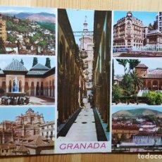 Postales: GRANADA Nº2135 VARIOS ASPECTOS - ED. ARRIBAS. Lote 148066598