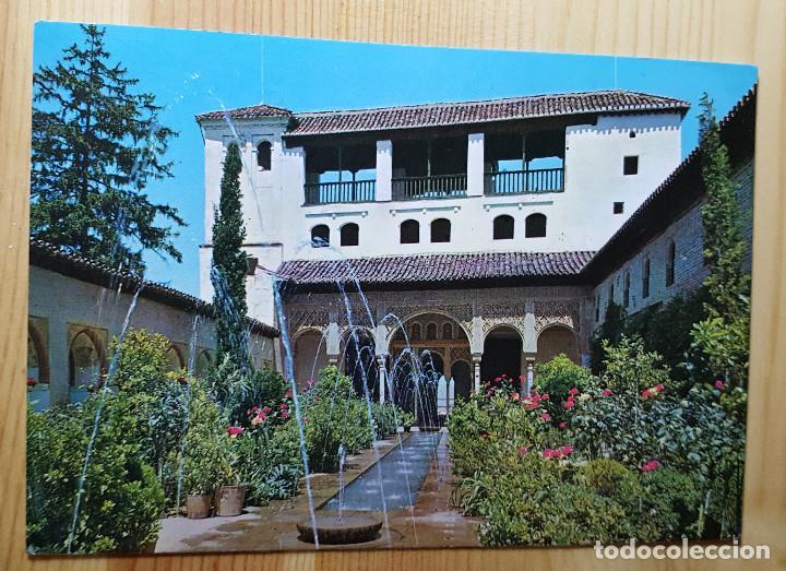 GRANADA GENERALIFE PATIO DE LA ACEQUIA Nº 26 - ED. GRAFICO PUBLICITARIAS (Postales - España - Andalucia Moderna (desde 1.940))