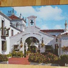 Postales: MARBELLA EL CARTIJO BLANCO. Lote 148320558