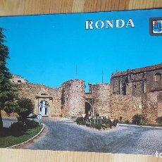 Postales: RONDA RECINTO AMURALLADO. Lote 148321338