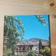 Postales: GRANADA LA ALHAMBRA JARDINES DEL PORTAL. Lote 148321678