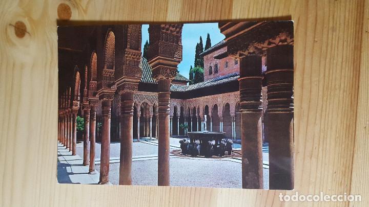 GRANADA LA ALHAMBRA PATIO DE LOS LEONES (Postales - España - Andalucia Moderna (desde 1.940))