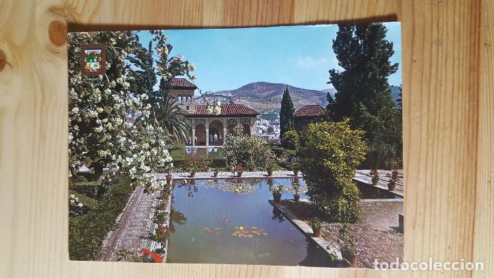 GRANADA LA ALAMBRA JARDINES DEL PORTAL (Postales - España - Andalucia Moderna (desde 1.940))