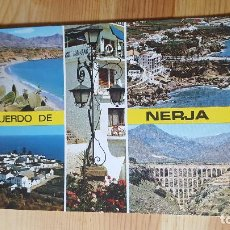 Postales: NERJA COSTA DEL SOL PLAYA BALCON DE EUROPA. Lote 148323246