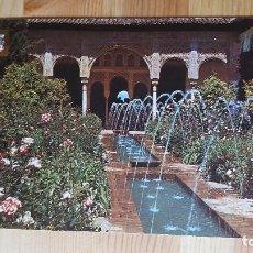 Postales: GRANADA LA ALHAMBRA PATIO DE LA ACEQUIA. Lote 148324862