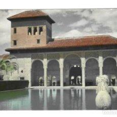 Postales: GRANADA / 5 LA ALHAMBRA - EL PARTAL - TORRE DE LAS DAMAS. Lote 148725734