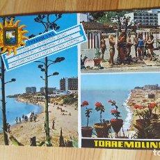 Postales: TORREMOLINOS Nº100 PLAYA FUENTE DE LA SALUDO - ED DOMINGUEZ. Lote 149006190