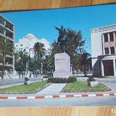 Postales: CADIZ Nº 175 AVDA DUQUE DE NAJERA MONUMENTO SIMON BOLIVAR - ED PAPELERIA ALFA. Lote 149006194