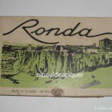 Postales: RONDA BLOK Nº 2, AZUL. 20 POSTALES. VISTAS. SIN CIRCULAR. . CCTT. Lote 149925582