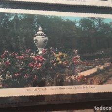 Sevilla parque de María Luisa jardín de los leones