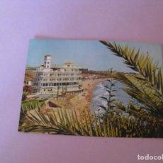 Postales: TORREMOLINOS. VISTA PARCIAL. DOMINGUEZ. CIRCULADA. 1961.. Lote 150158678