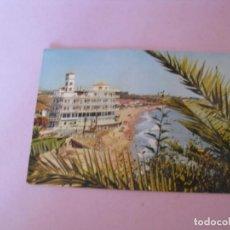 Postales: TORREMOLINOS. VISTA PARCIAL. DOMINGUEZ. CIRCULADA. 1961.. Lote 150158738