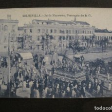 Postales: SEVILLA-SEMANA SANTA-JESUS NAZARENO-PARROQUIA DE LA O-535-ED·MANUEL BARREIRO-POSTAL ANTIGUA-(56.855). Lote 150437418
