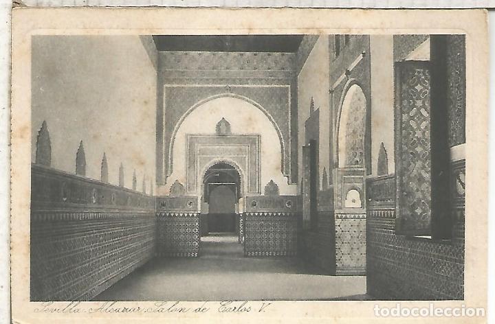 SEVILLA ALCAZAR SIN ESCRIBIR (Postales - España - Andalucía Antigua (hasta 1939))
