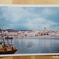 Postales: ALGECIRAS Nº 1 VISTA PARCIAL DESDE EL PUERTO 1960 ED. ALMACENES SUR. Lote 150803394
