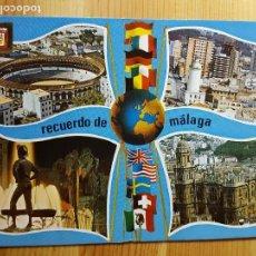Postales: MALAGA Nº 24 VISTAS PARCIALES ED. DOMINGUEZ. Lote 151564006