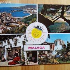Postales: MALAGA Nº 1.429 VARIAS VISTAS ED. COSTA DEL SOL. Lote 151565018