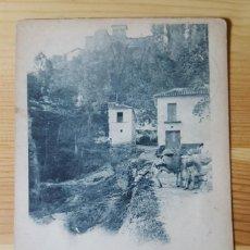 Postales: GRANADA LA ALHAMBRA TORRE DE LAS DAMAS 1912 HAUSER Y MENET ENVIADA A FLOREFFE. Lote 151616702