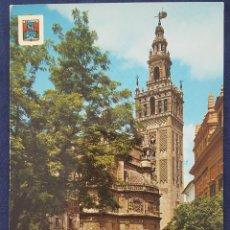 Postales: SEVILLA. LA GIRALDA. POSTAL. AÑOS 60. Lote 151913062