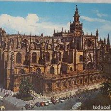 Postales: LA GIRALDA. SEVILLA. POSTAL AÑOS 60. Lote 151913106