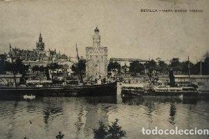 Sevilla. Lote de 6 postales antiguas. Giralda. Triana. San pedro. Plaza de toros, etc.