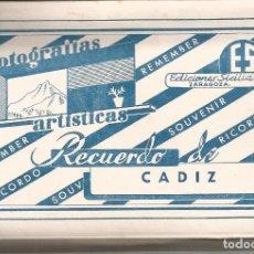Postales: CADIZ-ANDALUCIA. Lote 152681990