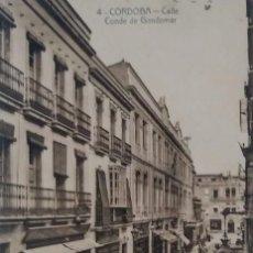 Postales: CÓRDOBA. CALLE CONDE DE GONDOMAR. Lote 135716827