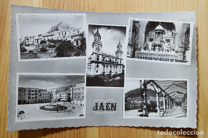 JAEN VARIAS VISTAS ED ARRIBAS Nº 157 (Postales - España - Andalucia Moderna (desde 1.940))