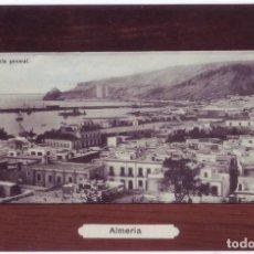 Postales: ALMERÍA: VISTA GENERAL. NO CONSTA EDITOR. CIRCULADA (1909). Lote 153243022