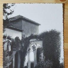 Postales: MALAGA JARDENIES DE LA ALCAZABA FOTO D. CORTES Nº 65. Lote 153564566