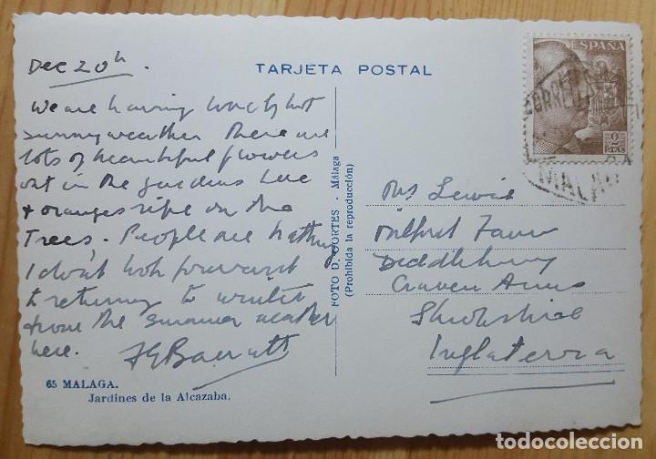 Postales: Malaga Jardenies de la Alcazaba Foto D. Cortes Nº 65 - Foto 2 - 153564566