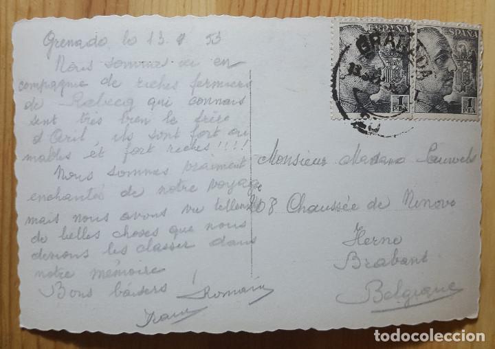 Postales: Granada la Alhambra sala de Las damas Ed. Arribas Nº 66 1953 - Foto 2 - 153569034