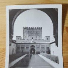 Postales: GRANADA LA ALHAMBRA PATIO DE LOS ARRAYANES UNION POSTALE UNIVERSELLE. Lote 153582770