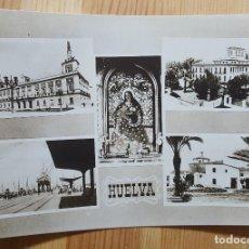 Postales: HUELVA VARIAS VISTAS ED. ARRIBAS Nº 104. Lote 153584038