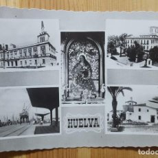 Postales: HUELVA VARIAS VISTAS ED. ARRIBAS Nº 104. Lote 153584958