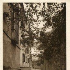 Postales: SEVILLA. BARRIO DE SANTA CRUZ. CALLEJON DEL AGUA. HUECOGRABADO MUMBRU.. Lote 153683938
