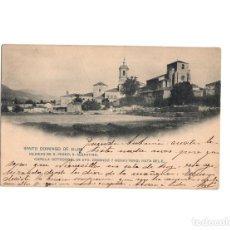 Postales: SANTO DOMINGO DE SILOS.(BURGOS).- IGLESIAS DE S. PEDRO, S. SEBASTIÁN, CAPILLA OCTOGONAL . Lote 153797738