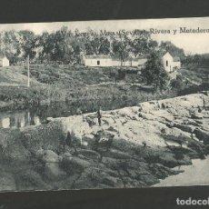 Postales: VILLANUEVA MINAS-RIVERA Y MATADERO-ED· LEONCIO LIMPIAS-POSTAL ANTIGUA-(57.447). Lote 153867678