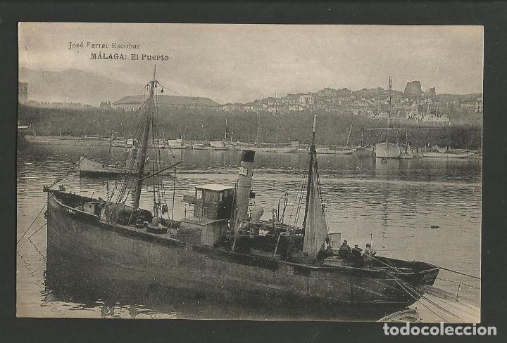 MALAGA-EL PUERTO-JOSE FERRER ESCOBAR-HAUSER Y MENET-POSTAL ANTIGUA-(57.450) (Postales - España - Andalucía Antigua (hasta 1939))