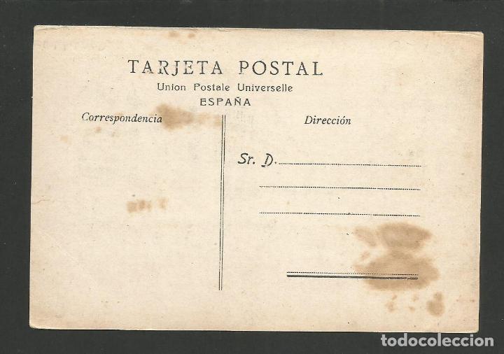 Postales: MALAGA-CALLE DEL MARQUES DE LARIOS-FOTOGRAFIA MUCHA-SASTRE-SALON ESPAÑA-POSTAL ANTIGUA-(57.469) - Foto 2 - 153874342