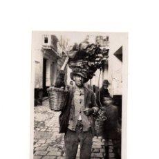 Postales: MÁLAGA.- VENDEDOR DE VERDURAS. Lote 153886598