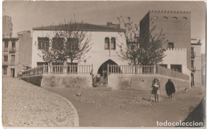 GUADIX (GRANADA) GRUPO ESCOLAR GENERALÍSIMO FRANCO. (POSTAL FOTOGRÁFICA) (Postcards - Spain - Modern Andalusia (since 1940))