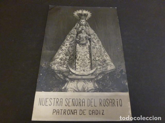 CADIZ NUESTRA SEÑORA DEL ROSARIO (Postales - España - Andalucía Antigua (hasta 1939))