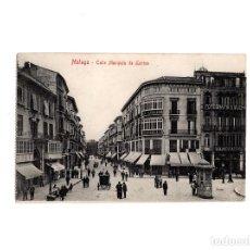 Postales: MÁLAGA.- CALLE MARQUÉS LARIOS.. Lote 154230006