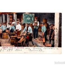 Postales: ALMERÍA.- TALLER DE BARRILERÍA, PURGER & CO. Lote 154422262
