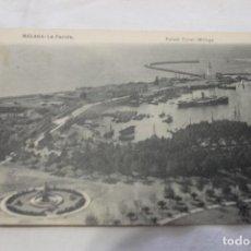 Postales: POSTAL MALAGA, LA FAROLA, DE RAFAEL TOVAL.. Lote 154693106