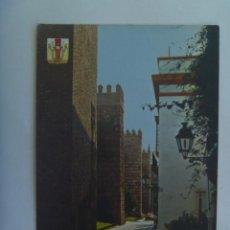 Postales: POSTAL DE SEVILLA : REALES ALCAZARES , MURALLA. Lote 154725562