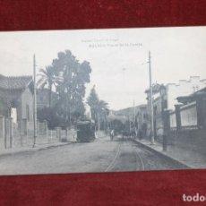 Postales: POSTAL ANTIGUA DEL PASEO DE LA CALETA EN MALAGA-RAFAEL TOVAL. Lote 154835158
